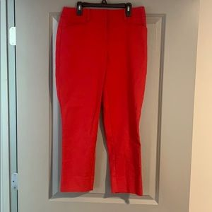 Loft Red Dress Pants
